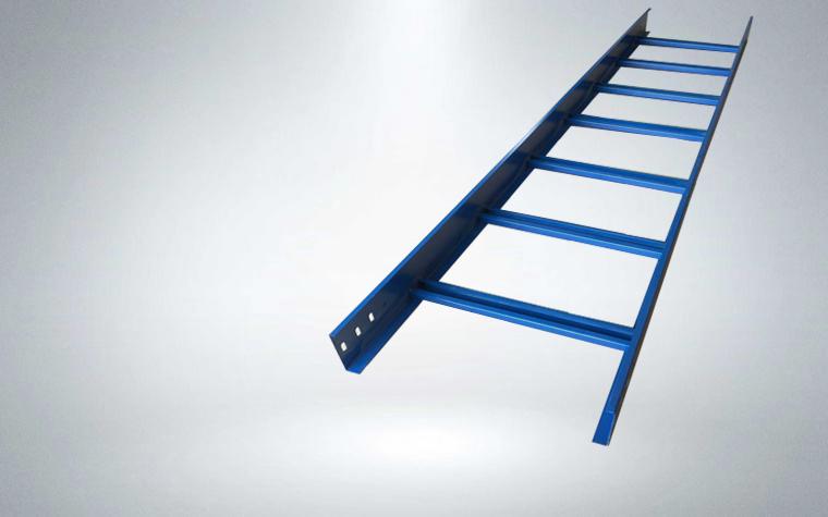 喷塑梯式电缆桥架