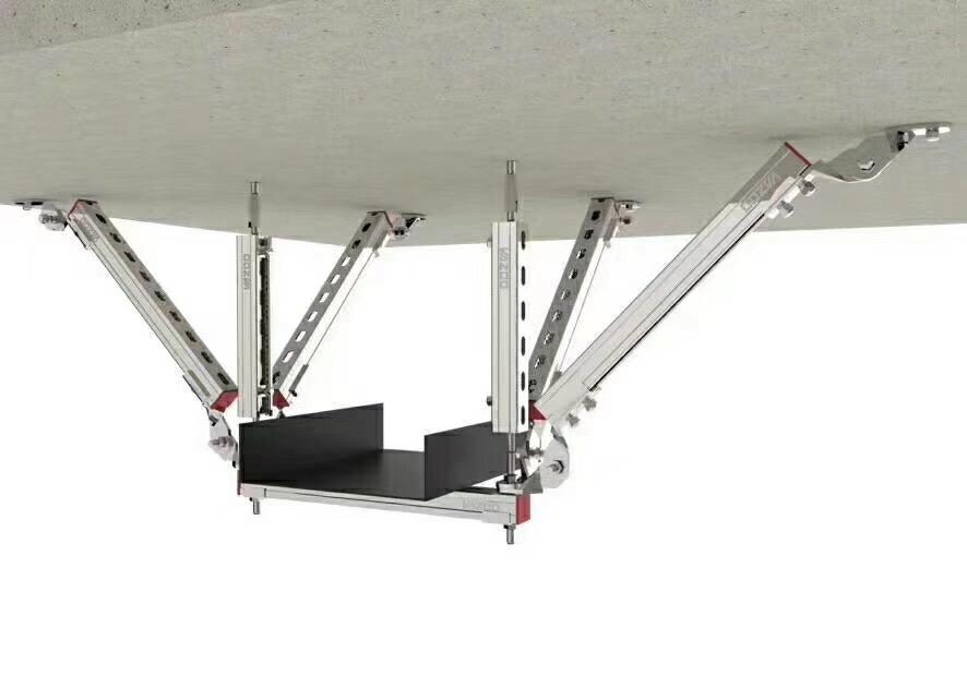 侧纵向抗震支架-单层桥架