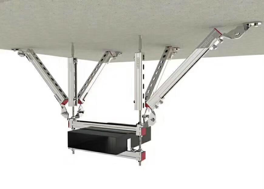 侧纵向抗震支架-双层桥架