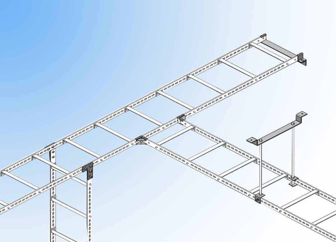 什么是通信机房拼装式走线架(桥架)?机房走线架标准图解